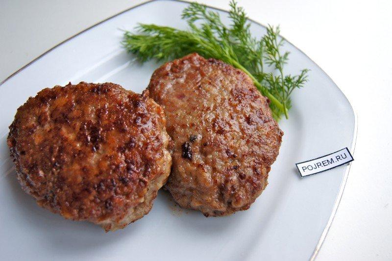 Котлеты из свиного фарша в духовке пошаговый рецепт с фото