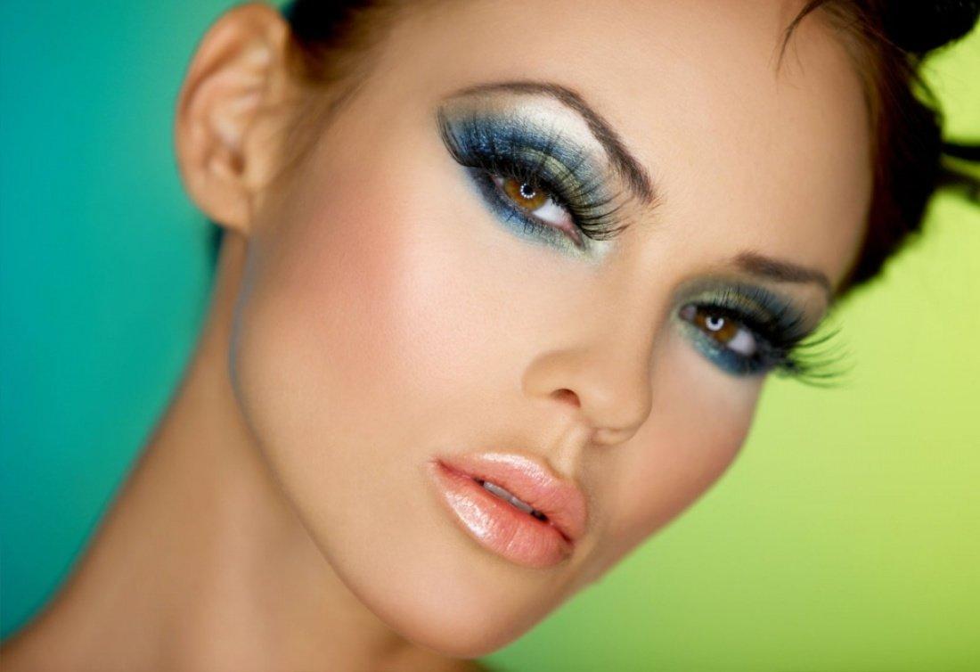 Красивый макияж нового года