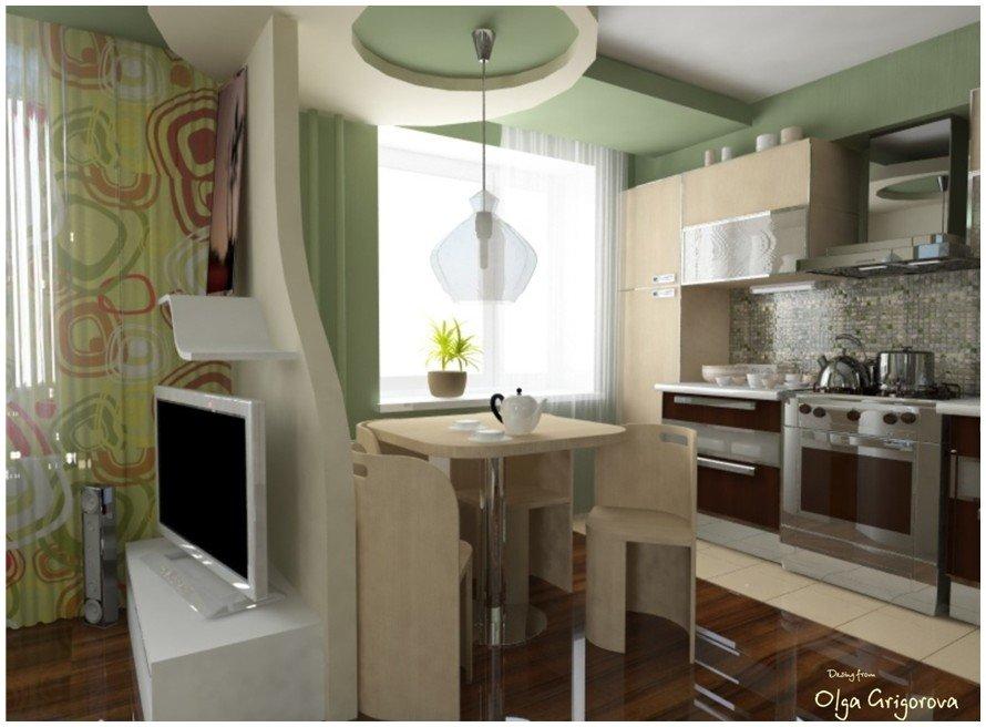 Как из одной комнаты сделать кухню и ванную
