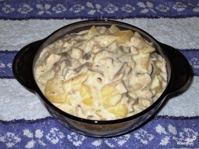 Вешенки с картошкой в мультиварке рецепты