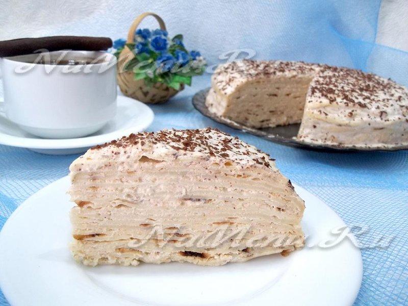 Пошаговый рецепт блинного торта