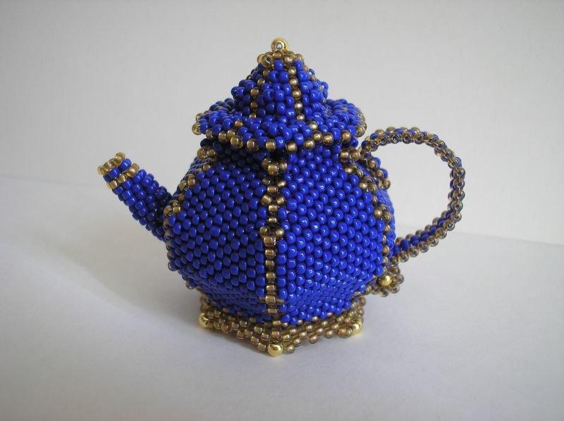 Чайник из бисера