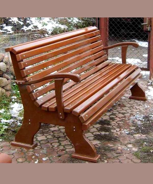 Фото скамейки из дерева своими руками