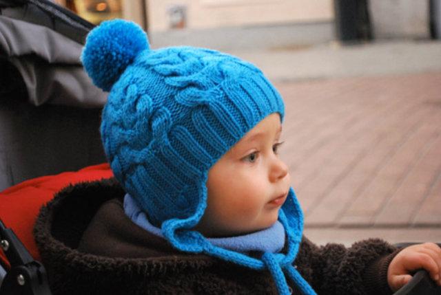 Вязание на детей шапок