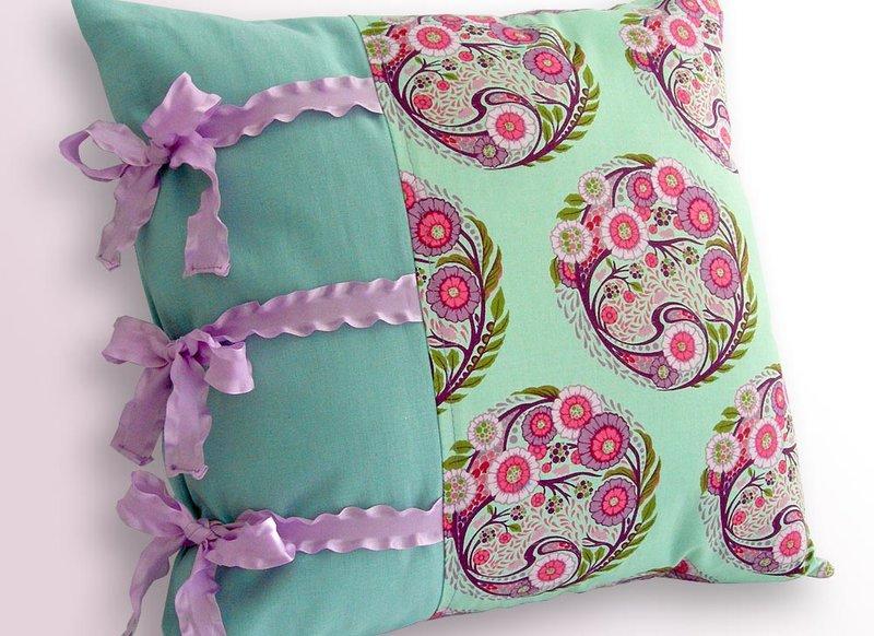 Наволочки на подушки красивые своими руками с