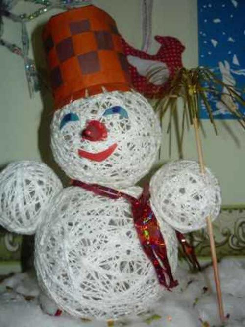 Сделать новогоднюю поделку своими руками на конкурс в детский сад