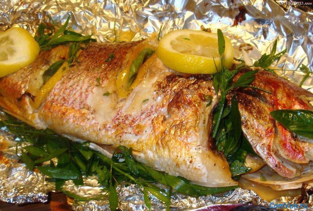 Как запечь рыбу в духовке пошаговое