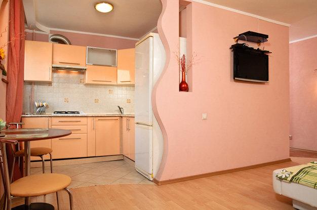 Совмещаем кухню с комнатой дизайн