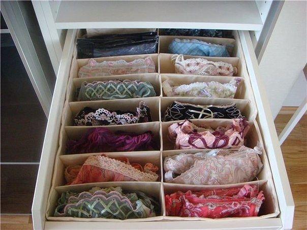 Ящик для хранения белья своими руками