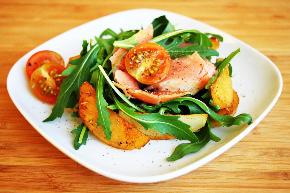 Салат из соленой форели рецепт с
