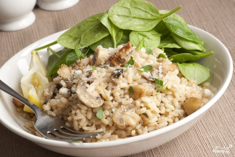 Рис с грибами и овощами в мультиварке рецепт с фото