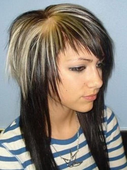 Каскад стрижка шапочкой на средние волосы