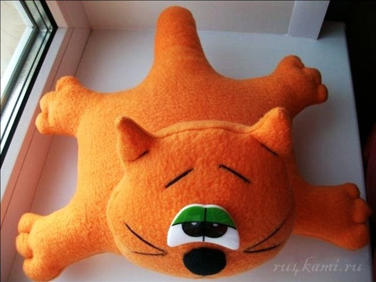 Подушка игрушка своими руками