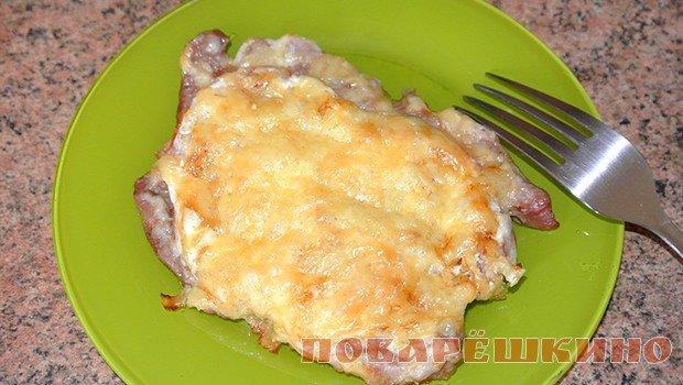 Свиные отбивные с помидорами в духовке рецепты с пошагово