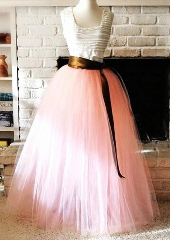 Как сшить юбку пачку длинную из фатина своими руками фото