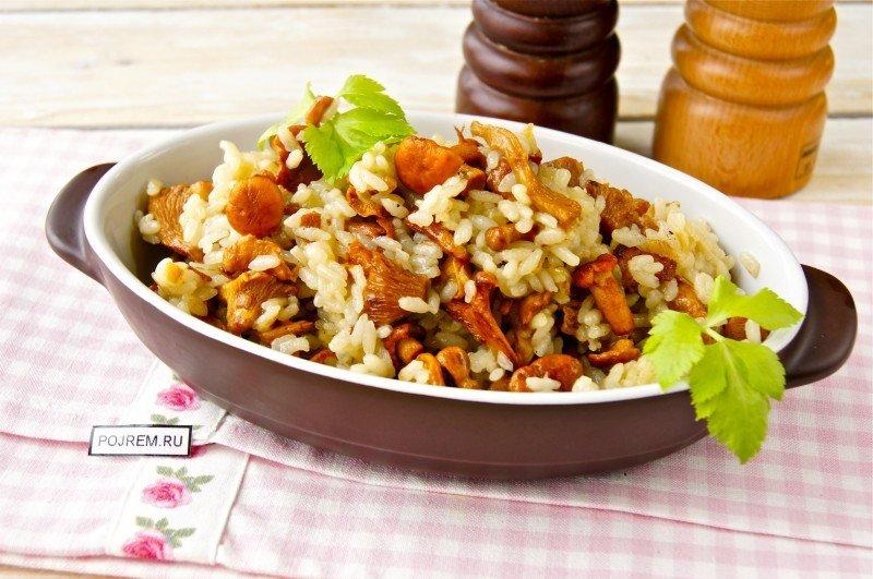 Блюда из грибов и риса рецепты простые и вкусные 2