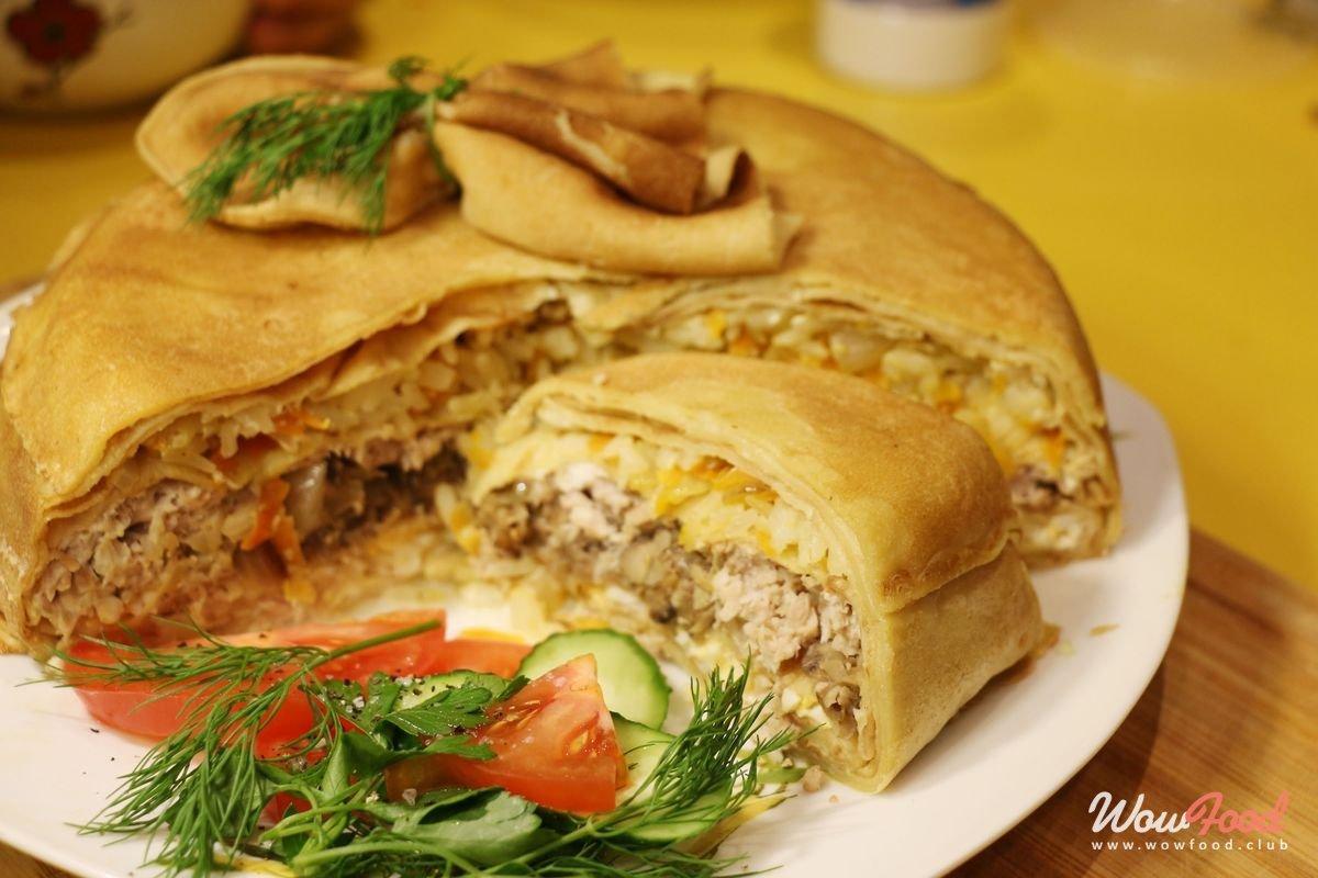 Пирог с грибами и картошкой рецепты