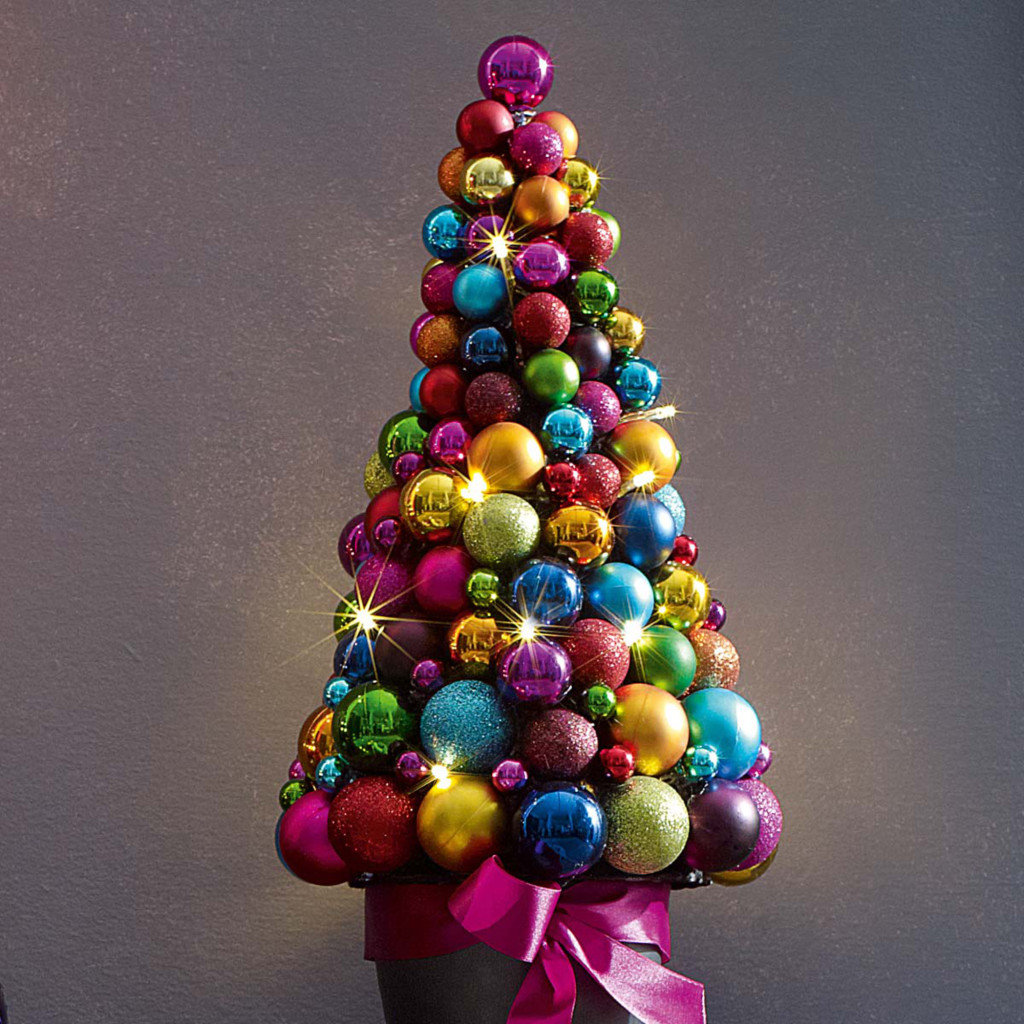 Новогодние елки топиарии своими руками