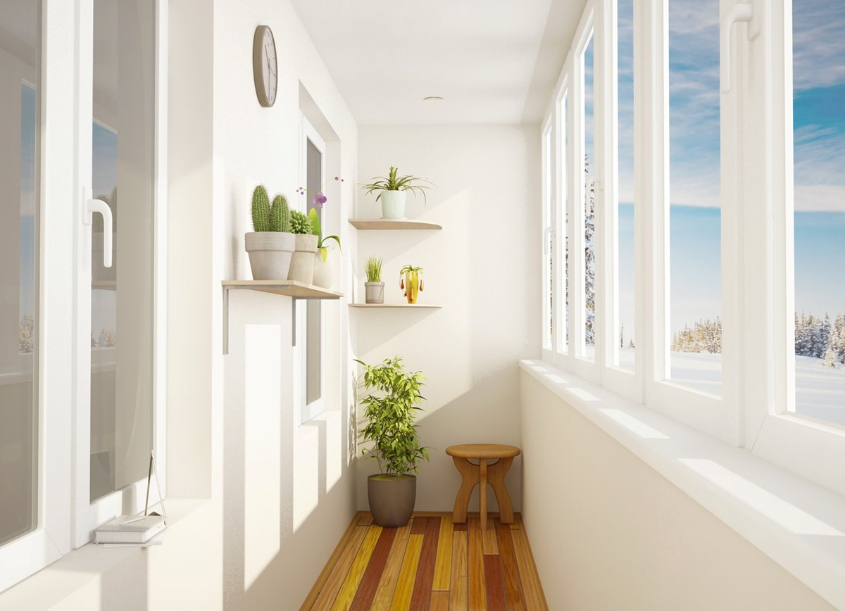 Дизайн балкона фото 2018