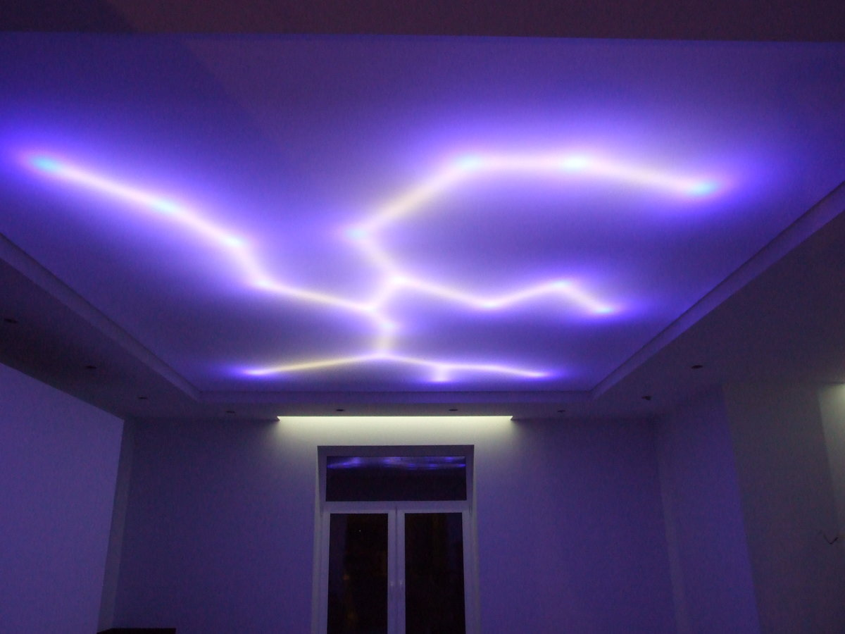 Как сделать встроенную подсветку