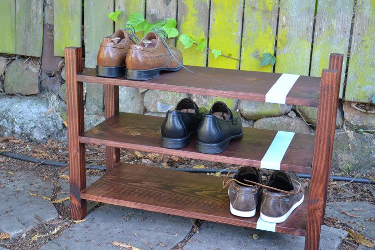 Как сделать стойку под обувь своими руками 77