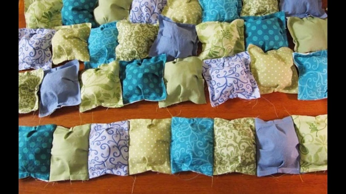 Ватное одеяло своими руками 9