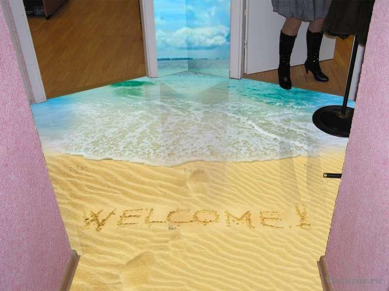 Как сделать наливные полы в доме