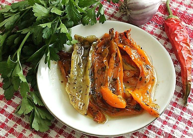 Рецепты из болгарского перца запеченного