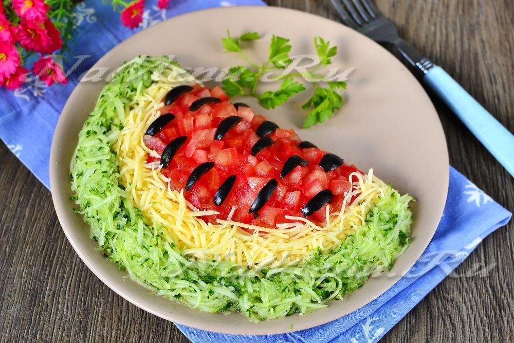 Легкие и быстрые рецепты салатов с фото простые и вкусные на день рождения