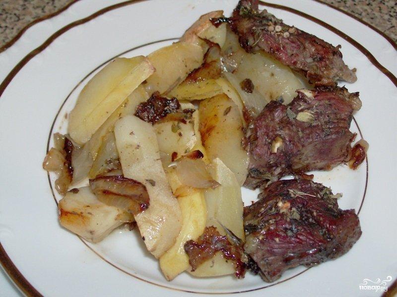 Рецепт баранины с картошкой с фото