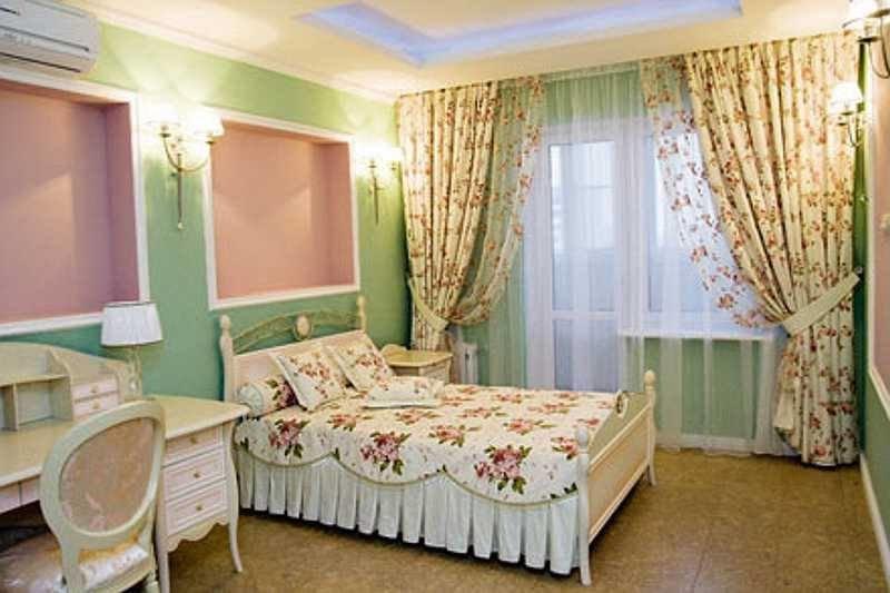 Фасоны штор для спальни фото своими руками 68