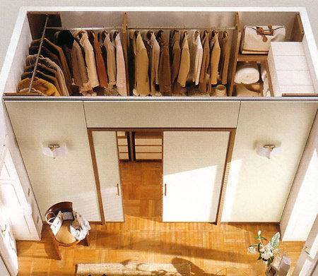Раздвижные двери в гардеробе своими руками