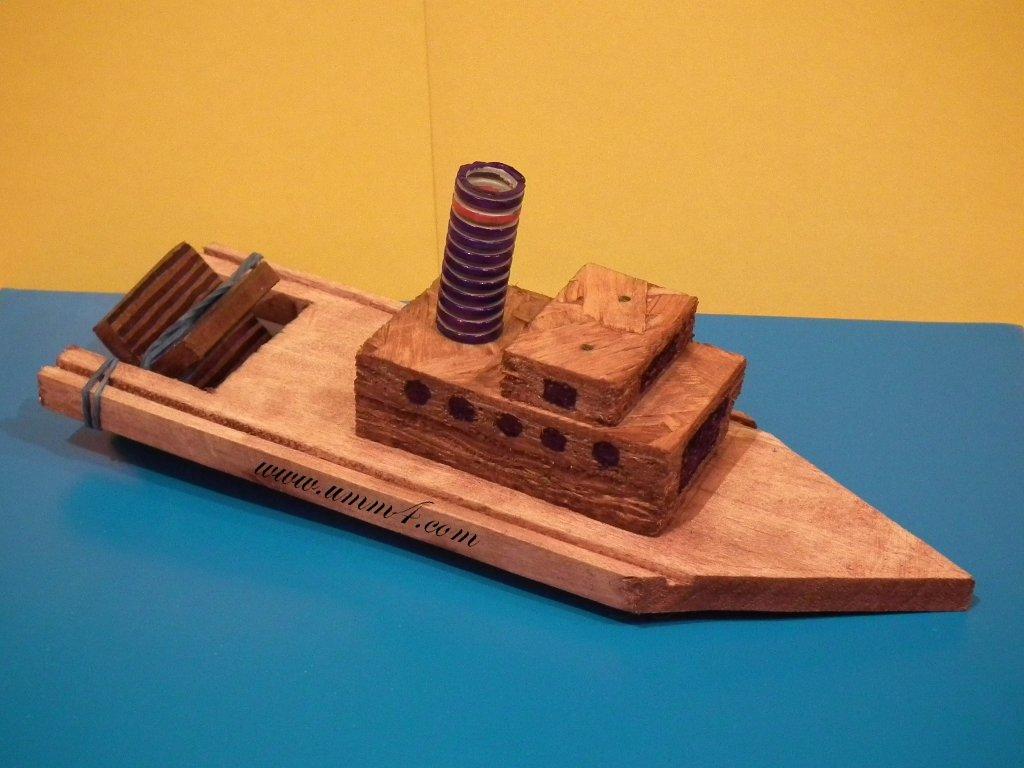 Корабль маленький своими руками 5
