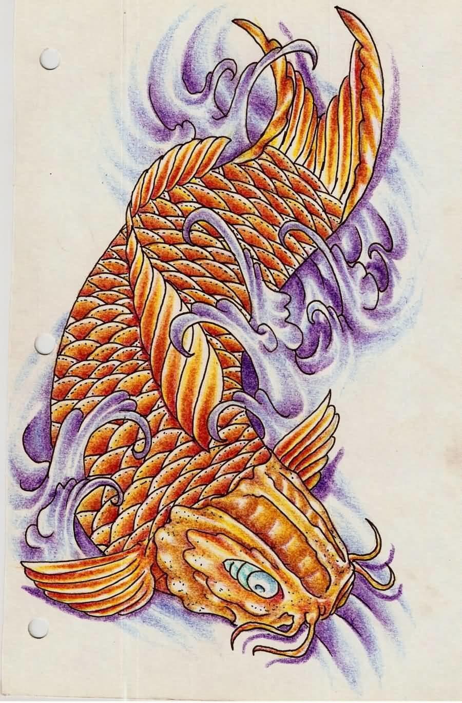 «Эскизы татуировок карпа Кои» коллекция пользователя