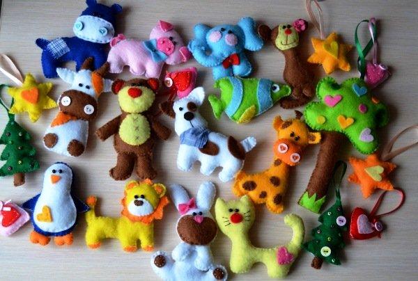 Поделки для маленьких игрушек 38