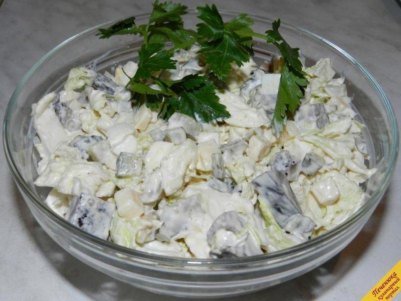 Салат из свиной печени рецепт очень вкусный
