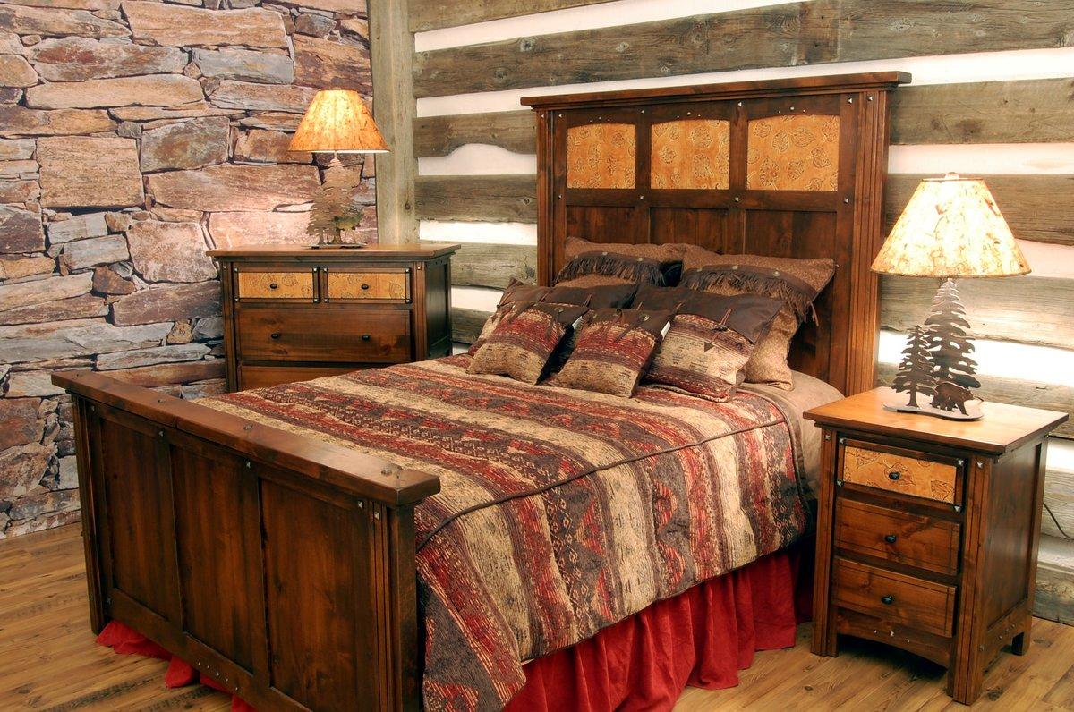 Спальня в стиле своими руками фото