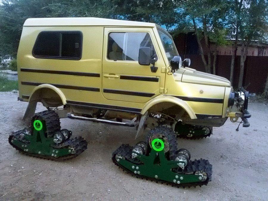Сам авто на гусеницах своими руками 178