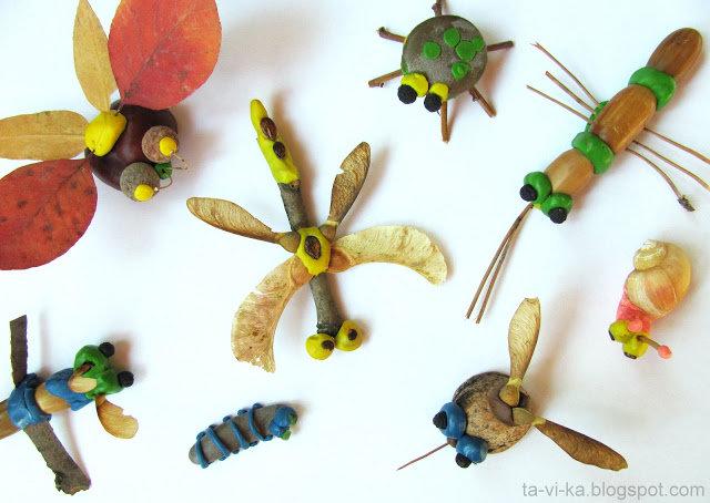 Поделки из природного материала с ребенком