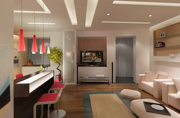 Дизайн кухни гостиной своими руками фото 33