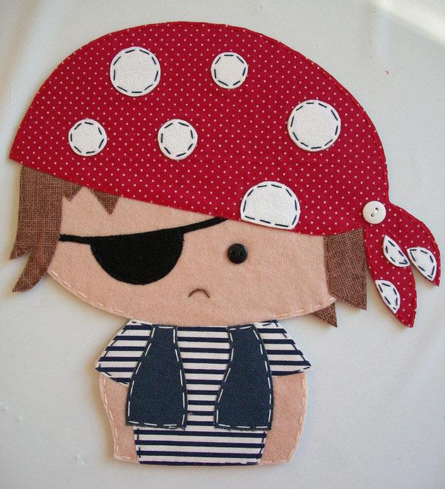 Пиратские поделки с детьми 71