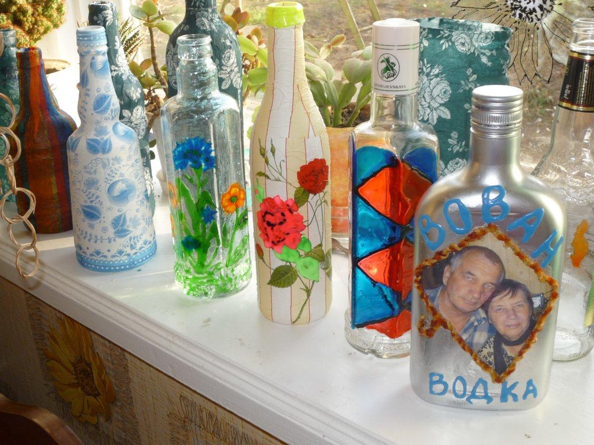Бутылки-домики своими руками
