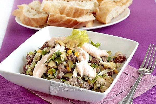 Рецепты салатов с шаг за шагом