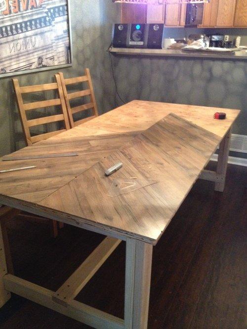 Сделать столик из фанеры своими руками 49