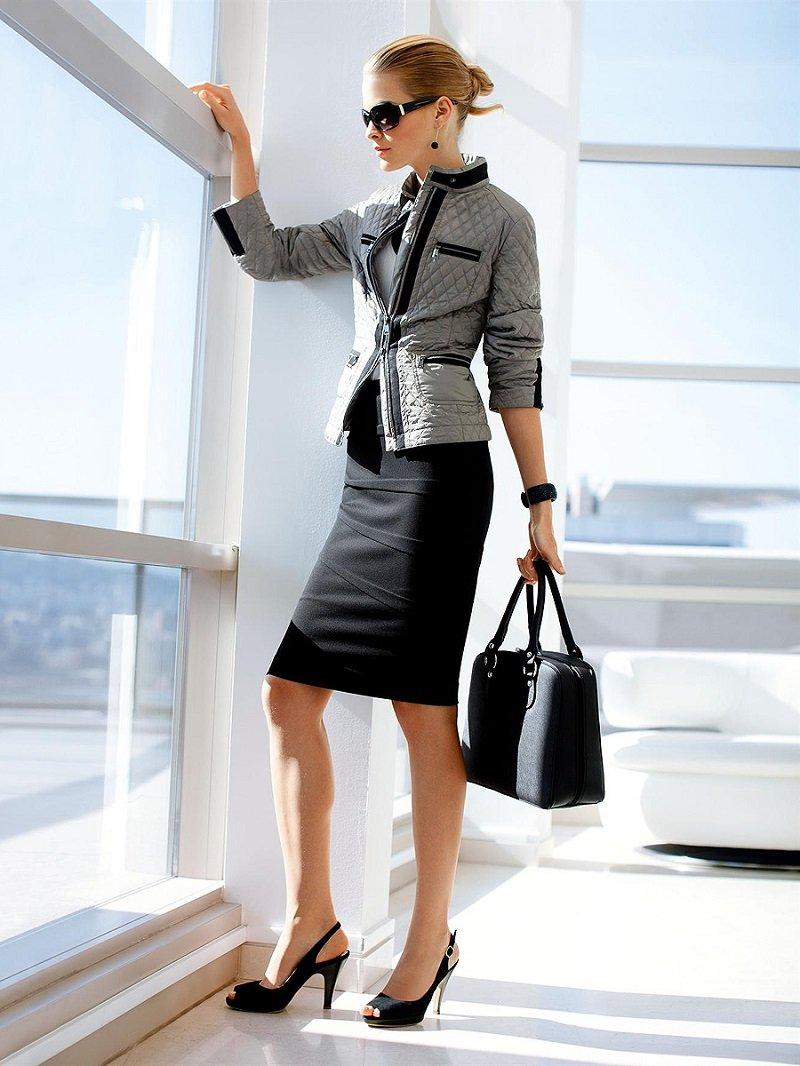 Красивые девушки в офисном стиле фото