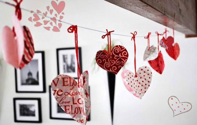 Украсить комнату своими руками на 14 февраля