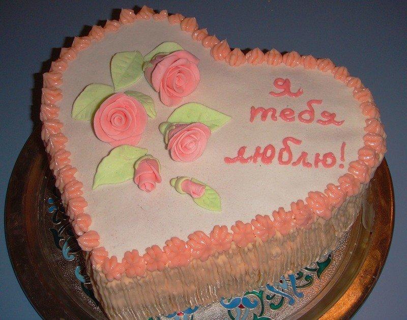Украсить торт любимому своими руками 85