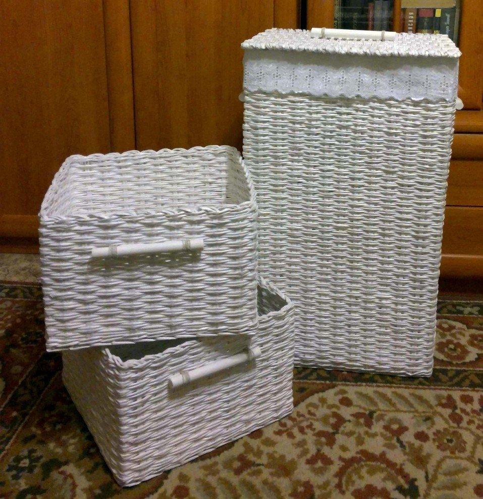 Коробка для белья из картона своими руками 82