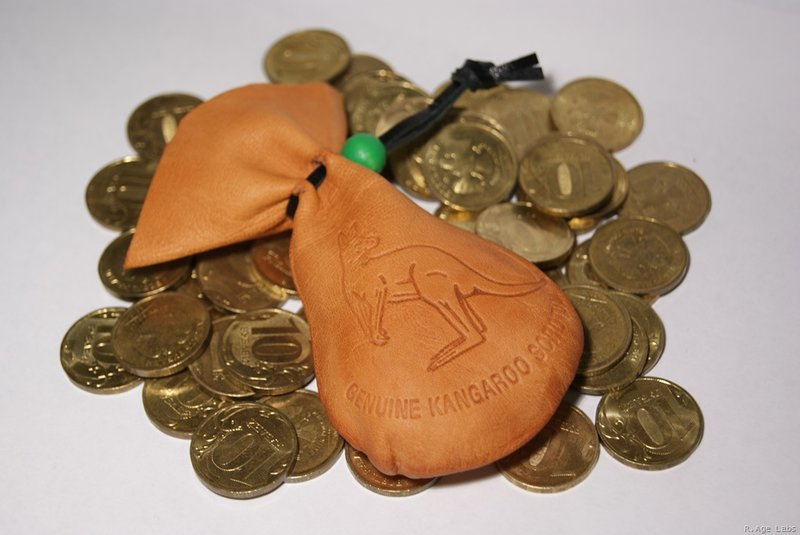 Мешочки из кожи для монет своими руками