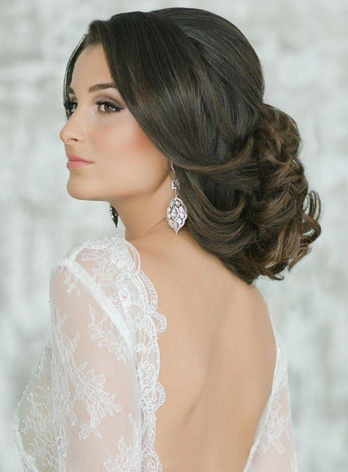 Прически на свадьбу самые красивые